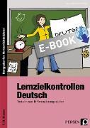 Cover-Bild zu Lernzielkontrollen Deutsch 7./8. Klasse (eBook) von Ebner, Kathrin