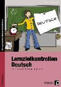 Cover-Bild zu Lernzielkontrollen Deutsch 7./8. Klasse von Ebner, Kathrin