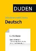 Cover-Bild zu Übungsblätter Aufsatz/Textanalyse zur Duden Schulgrammatik extra - Deutsch (eBook) von Steinhauer, Anja