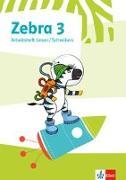 Cover-Bild zu Zebra 3. Arbeitsheft Lesen/Schreiben Klasse 3
