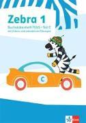 Cover-Bild zu Zebra 1. Buchstabenheft Plus mit digitalen Medien Klasse 1