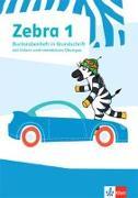 Cover-Bild zu Zebra 1. Buchstabenheft in Grundschrift mit digitalen Medien Klasse 1