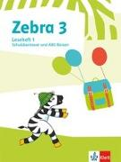Cover-Bild zu Zebra 3. Lesehefte Klasse 3
