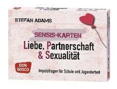 Cover-Bild zu Sensis-Karten Liebe, Partnerschaft und Sexualität von Adams, Stefan