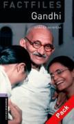 Cover-Bild zu Oxford Bookworms Library Factfiles: Level 4:: Gandhi audio CD pack von Akinyemi, Rowena