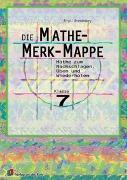 Cover-Bild zu Die Mathe-Merk-Mappe Klasse 7 von Brandenburg, Birgit