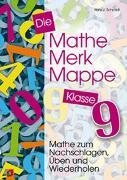 Cover-Bild zu Die Mathe-Merk-Mappe Klasse 9 von Schmidt, Hans J.
