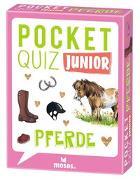 Cover-Bild zu Pocket Quiz junior Pferde