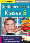 Cover-Bild zu Stationenlesen Klasse 5