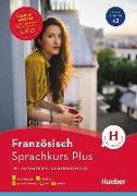 Cover-Bild zu Hueber Sprachkurs Plus Französisch - Premiumausgabe von Rousseau, Pascale