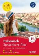 Cover-Bild zu Sprachkurs Plus Italienisch. Buch mit MP3-CD, Onlineübungen, App und Videos von Caiazza-Schwarz, Gabriella