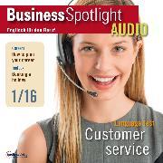 Cover-Bild zu Business-Englisch lernen Audio - Kundenservice (Audio Download) von Verlag, Spotlight