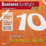 Cover-Bild zu Business-Englisch lernen Audio - Spezialtest: Business Skills (Audio Download) von Davis, Margaret