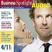 Cover-Bild zu Business-Englisch lernen Audio - Vorsicht beim Büroklatsch (Audio Download) von Taylor, Ken