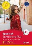Cover-Bild zu Hueber Sprachkurs Plus Spanisch / Buch mit MP3-CD, Online-Übungen, App und Videos von Rudolph, Hildegard