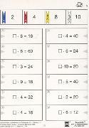 Cover-Bild zu Malnehmen mit Zahlen bis 10. Kleines 1 x 1 von Müller, Heiner