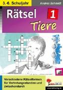 Cover-Bild zu Rätsel / Band 1: Tiere (eBook) von Autorenteam Kohl-Verlag