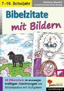 Cover-Bild zu Bibelzitate mit Bildern (eBook) von Mandzel, Waldemar