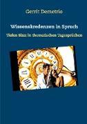 Cover-Bild zu Wissenskredenzen in Spruch (eBook) von Demetrio, Gerrit