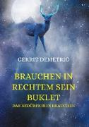 Cover-Bild zu Brauchen in rechtem Sein Buklet (eBook) von Demetrio, Gerrit