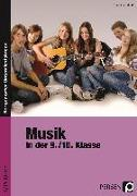 Cover-Bild zu Musik in der 9./10. Klasse von Netzel, Claudius