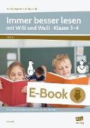 Cover-Bild zu Immer besser lesen mit Willi und Walli - Kl. 3-4 (eBook) von Kucera, Pia