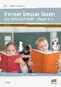 Cover-Bild zu Immer besser lesen mit Willi und Walli - Kl. 3-4 von Kucera, Pia