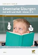 Cover-Bild zu Lesestarke Übungen mit Willi und Walli - Kl. 3-4 von Kucera, Pia