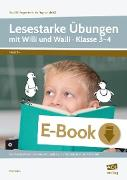Cover-Bild zu Lesestarke Übungen mit Willi und Walli - Kl. 3-4 (eBook) von Kucera, Pia