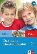 Cover-Bild zu Das neue Deutschmobil 2. Lehrbuch mit Audio-CD von Douvitsas-Gamst, Jutta