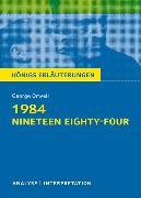 Cover-Bild zu 1984 - Nineteen Eighty-Four von George Orwell von Orwell, George