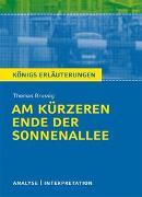Cover-Bild zu Am kürzeren Ende der Sonnenallee von Thomas Brussig von Brussig, Thomas