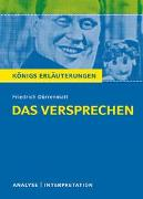 Cover-Bild zu Das Versprechen von Friedrich Dürrenmatt von Dürrenmatt, Friedrich
