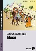 Cover-Bild zu Lernstationen Religion: Mose von Behrendt, Melanie
