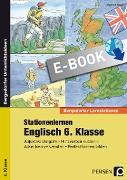 Cover-Bild zu Stationenlernen Englisch 6. Klasse (eBook) von Bojes, Manfred