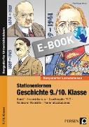 Cover-Bild zu Stationenlernen Geschichte 9./10. Klasse - Band 1 (eBook) von Lauenburg, Frank