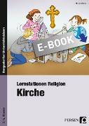Cover-Bild zu Lernstationen Religion: Kirche (eBook) von Weber, Nicole