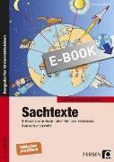 Cover-Bild zu Sachtexte (eBook) von Moerke, Eva-Maria