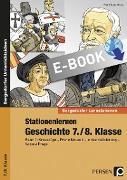 Cover-Bild zu Stationenlernen Geschichte 7./8. Klasse - Band 1 (eBook) von Lauenburg, Frank