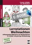 Cover-Bild zu Lernstationen: Weihnachten (eBook) von Schüder, Frauke