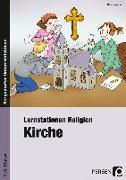 Cover-Bild zu Lernstationen Religion: Kirche von Weber, Nicole