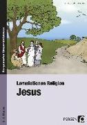 Cover-Bild zu Lernstationen Religion: Jesus von Klein, Ute