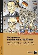 Cover-Bild zu Stationenlernen Geschichte 9./10. Klasse Band 2 von Lauenburg, Frank