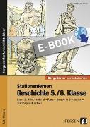 Cover-Bild zu Stationenlernen Geschichte 5./6. Klasse - Band 2 (eBook) von Lauenburg, Frank