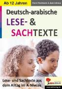 Cover-Bild zu Deutsch-Arabische LESE- und SACHTEXTE (eBook) von Ichoua, Aani