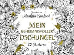 Cover-Bild zu Basford, Johanna: Mein geheimnisvoller Dschungel