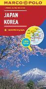 Cover-Bild zu MARCO POLO Kontinentalkarte Japan, Korea 1:2 000 000. 1:2'000'000