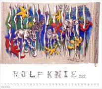 Cover-Bild zu Rolf Knie Kalender 2022