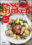 Cover-Bild zu ESSEN & TRINKEN Wochenkalender 2022 - Küchen-Kalender mit Notizfeldern - pro Woche 1 Rezept - Format 21,0 x 29,7 cm - Spiralbindung
