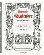 Cover-Bild zu Appenzeller Kalender 2022